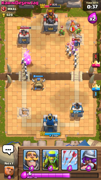 Clash Royale Battle