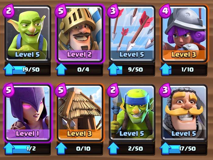 Clash Royale Battle Deck Arena 4   Clash Royale Deck
