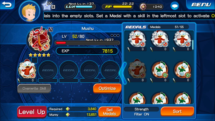 Level-up-medals