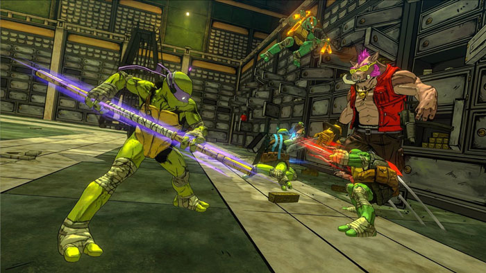 TMNT Mutants in Manhattan Combat and Boss Fights