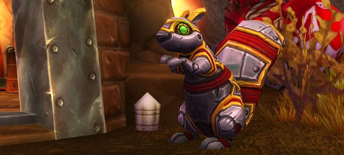 Nutz the mechanical squirrel in WoW
