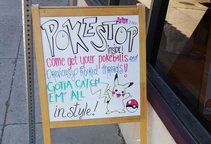 PokeStop Local Business