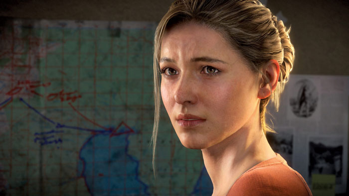 Elena in Uncharted 4
