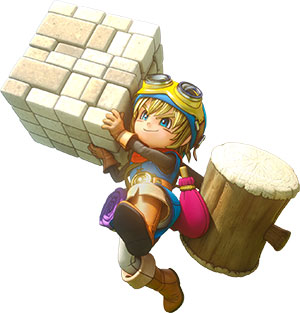 Dragon Quest Builders main characters