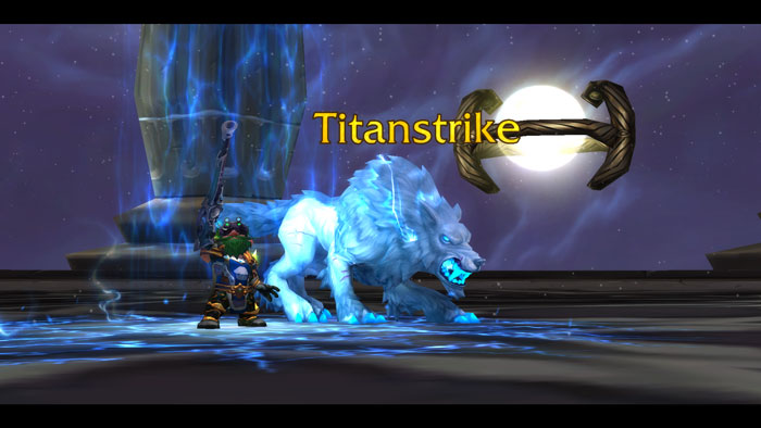 WoW BM Hunter Titanstrike Artifact Weapon
