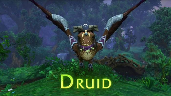 Druid Class Mount