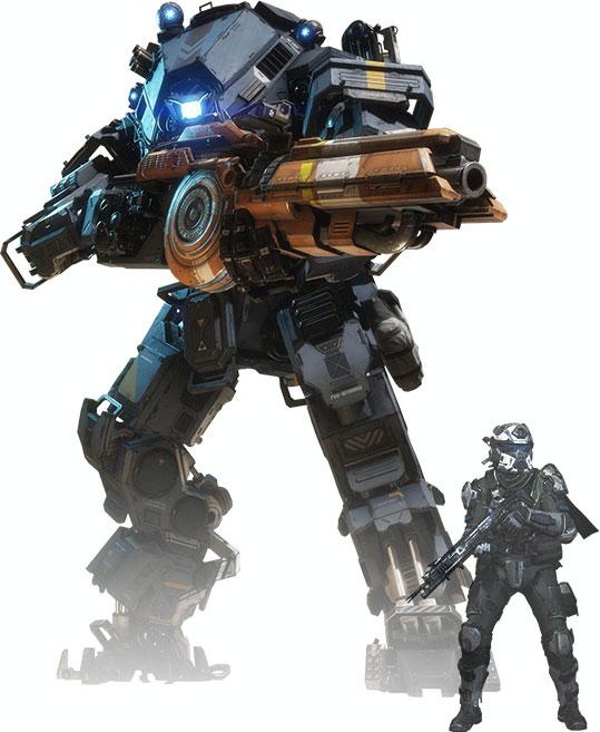 Titanfall 2 Titan and Pilot