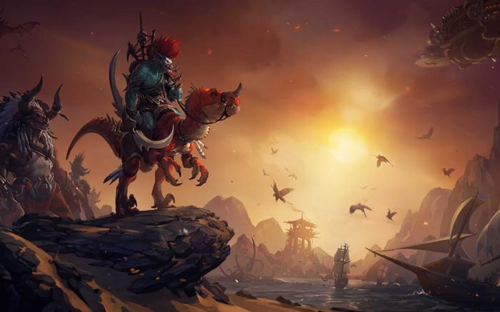 Warcraft Open-World RPG