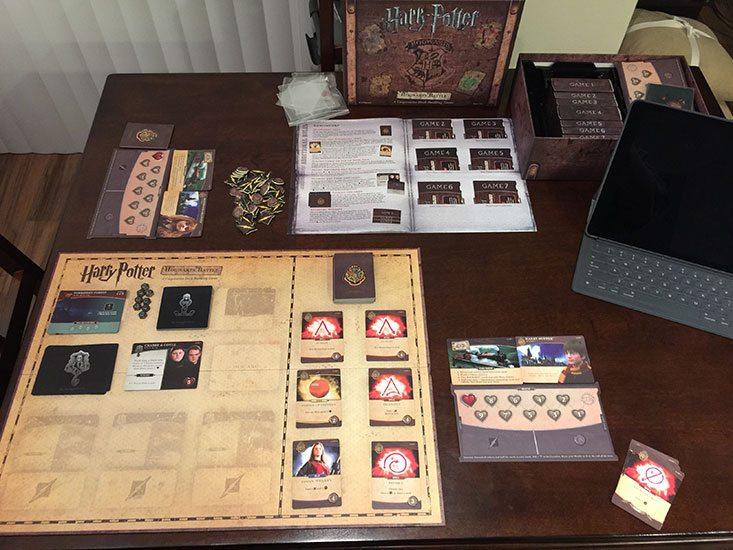 Harry Potter Hogwarts Battle Setup