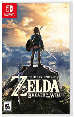 Breath of the Wild Switch Box Art