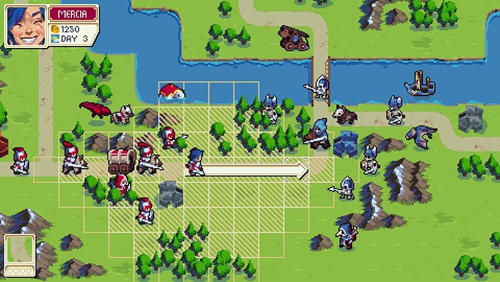 Wargroove for Switch