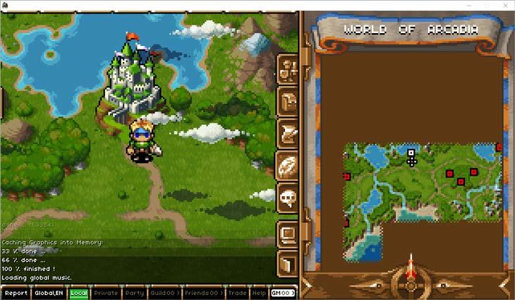 Kingdom of Loot Overworld