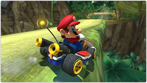 Mario Kart 8 Smart Steering