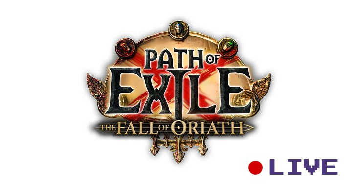 Streaming Path of Exile Live