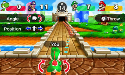 Mario Party 100 minigame