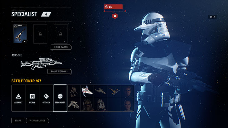 Battlefront 2 Combat Point Unlocks