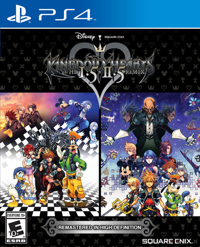 KH HD Remix PS4