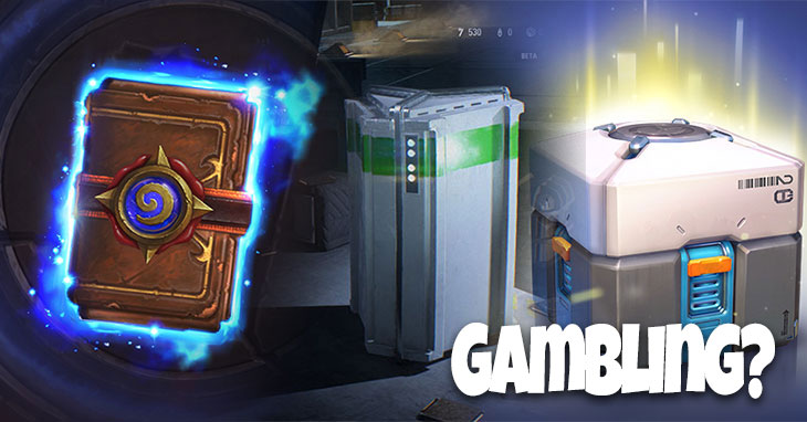 Gambling, Games, and Loot Boxes