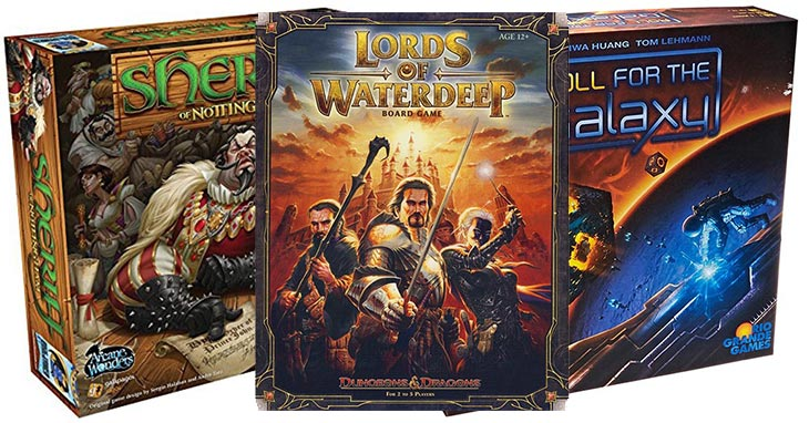 What board games to buy 2017