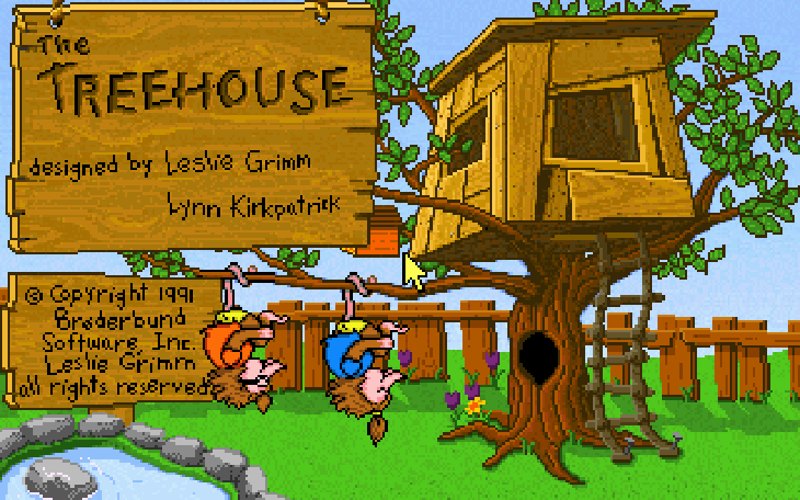 The Treehouse 1991 game