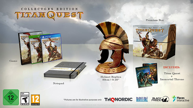 Titan Quest Coming to Consoles in 2018