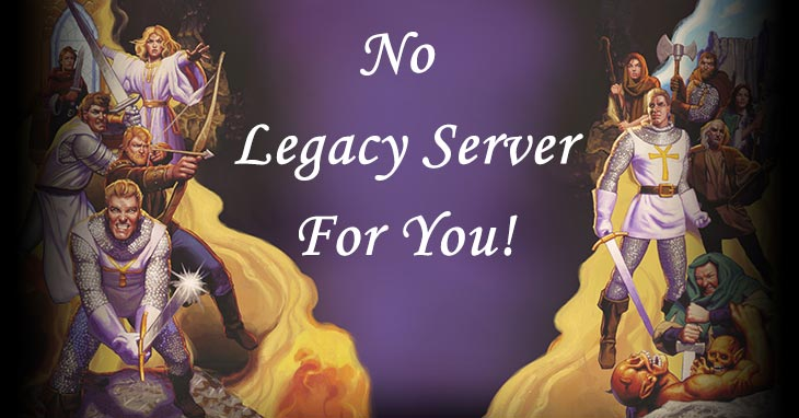 UO No Official Legacy Server