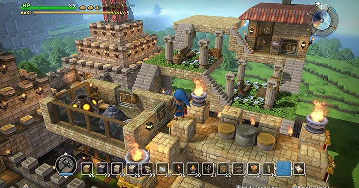 Dragon Quest Builders on Switch Tomorrow