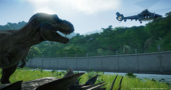 Jurassic World Evolution: The Dino-Park Management Sim Game