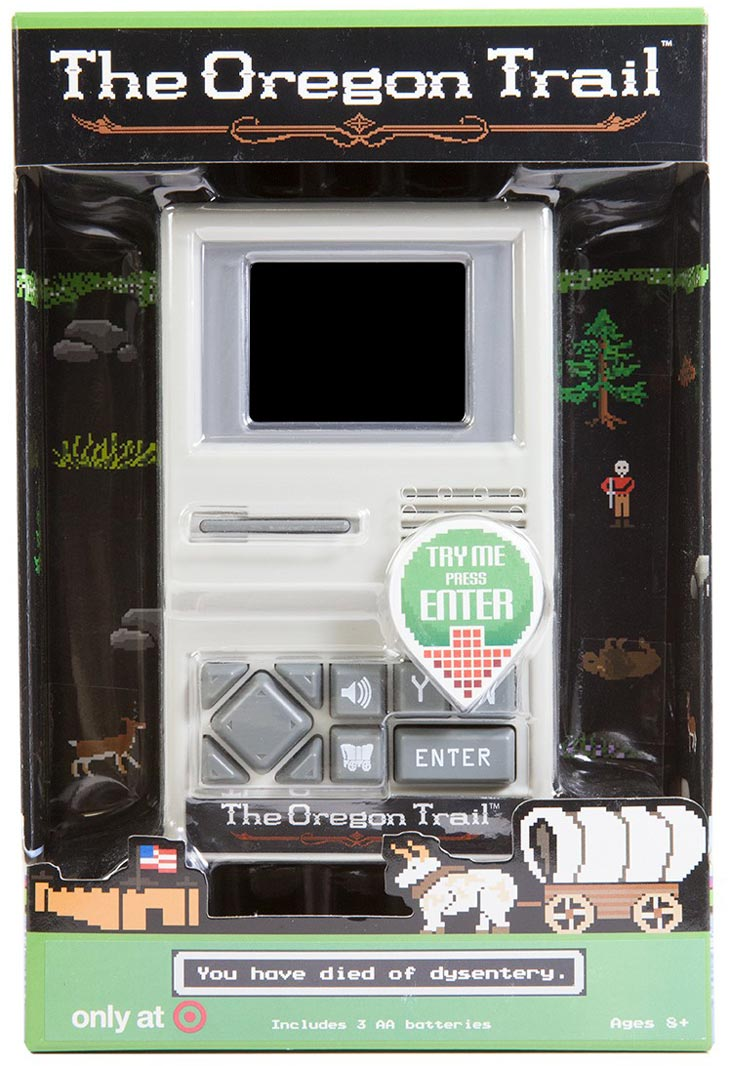 Oregon Trail Handheld Game at Target