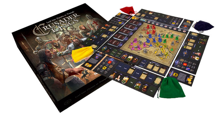 Crusader Kings Board Game