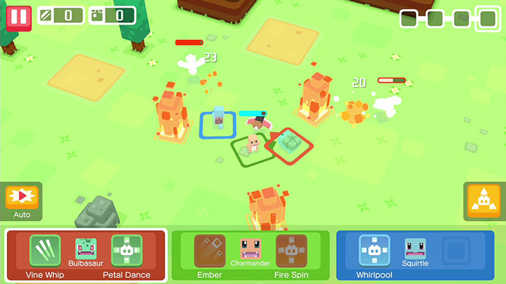 Pokemon Quest Gameplay