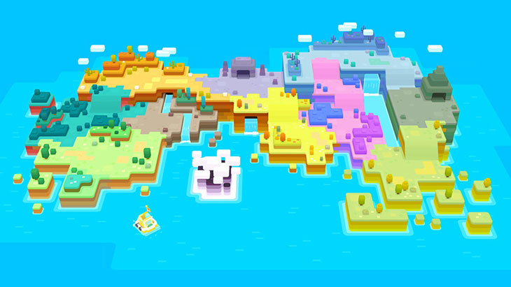 Pokemon Quest Island