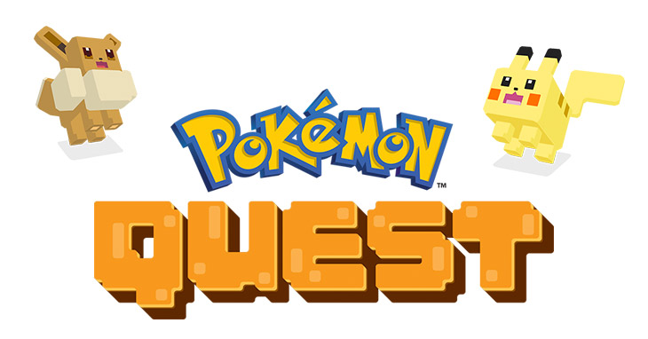 Pokemon Quest is a Phone Game on the Switch