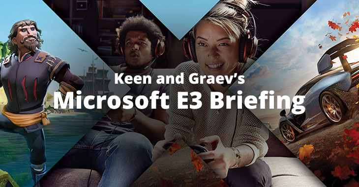 Microsoft E3 Briefing Opinions