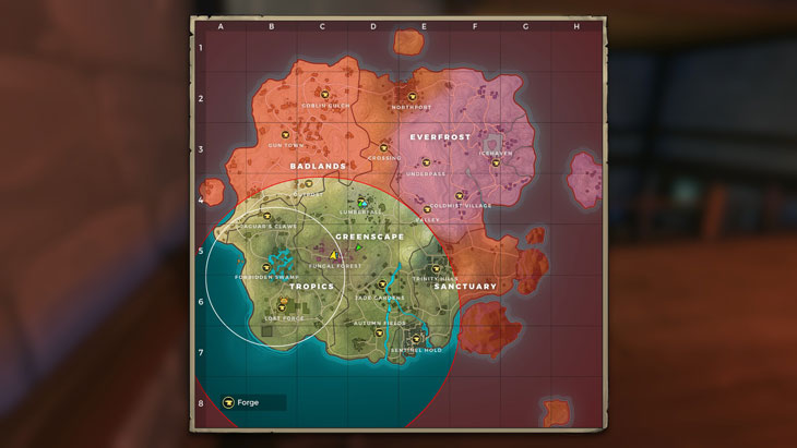 Realm Royale Map