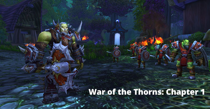 War of the Thorns Chapter 1 review
