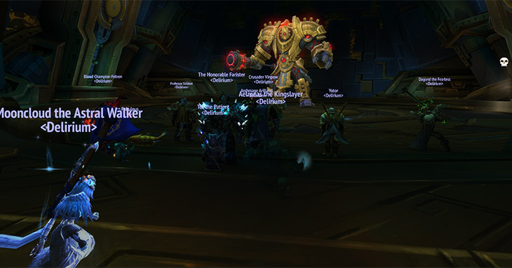 First BFA Raid, Warfront, and Mythic+ Experiences