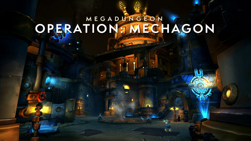 Mechagon mega dungeon