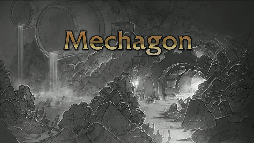 Mechagon outdoor zone entrance