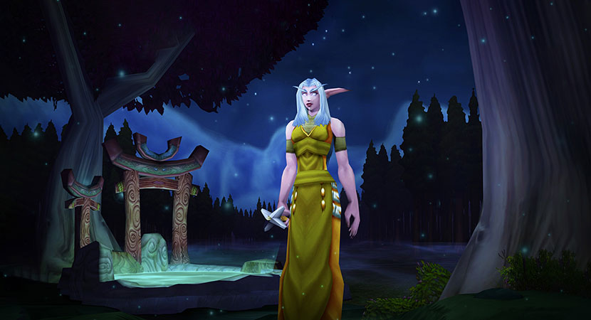 The Spirit of World of Warcraft is Old School